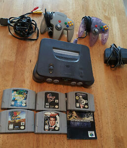 N64 console Goldeneye Shadows of the Empire Resident Evil 2