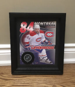 Guillaume Latendresse Montreal Canadiens  frame