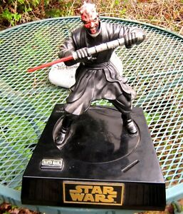 STAR WARS DARTH MAULER ACTION FIGURE WITH COIN SLOT