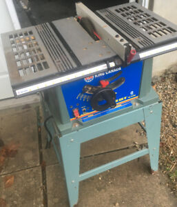 "King Canada 10"" Table Saw w/ Stand SEE VIDEO"