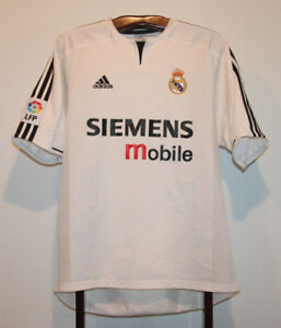 c72a580e0 ADIDAS 2003-04 REAL MADRID HOME FOOTBALL SOCCER JERSEY LARGE