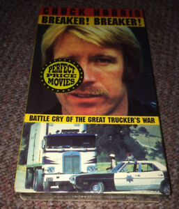 "Chuck Norris ""Breaker! Breaker!"" Movie New & Factory Sealed VHS"
