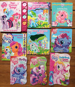 MY LITTLE PONY BOARD BOOKS  9 for $10