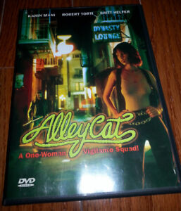 Alley Cat DVD starring Karin Mani OOP
