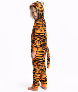 H&M Tiger costume , halloween-size 1.5-2 body suit brand new