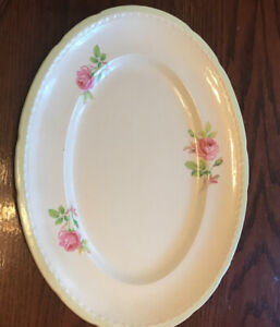 English serving platter Large
