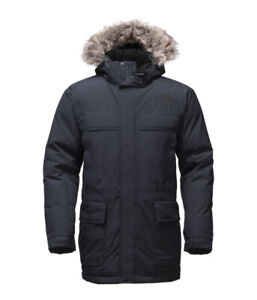 The North Face Men's MCMURDO PARKA II Small Black (New)