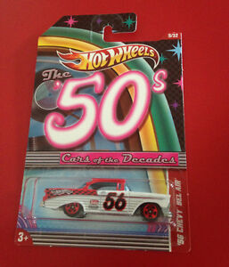 Hot Wheels Cars of the Decades