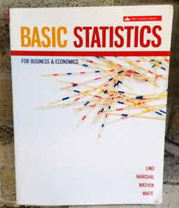Durham College Textbook - Basic Statistics - ISBN 9781259030529