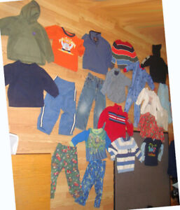 Lot of 21 Piece Clothing Size 4 Years - $45 for all!
