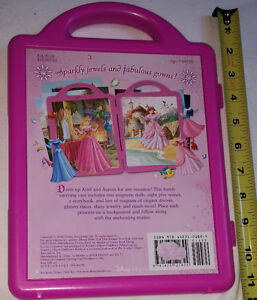 Qty 2 x Disney Princess Fashions - Magnetic Book and Play Sets London Ontario image 5
