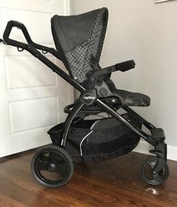 Peg Perego Car Seat w/ base and Stroller Set