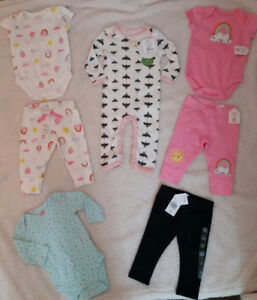Brand New 3-Month Size Baby Clothes - $55 for all