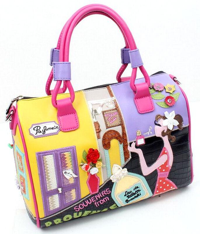 d6504f20362e Women Handbags Messenger Bag Shoulder Bag Totes Braccialini Black Perfume  Beauty фото