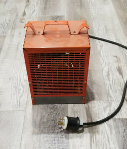 Portable Electric Heater - 4800 W - 240 V