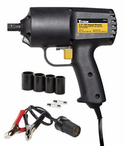 12V Impact Wrench Set, New