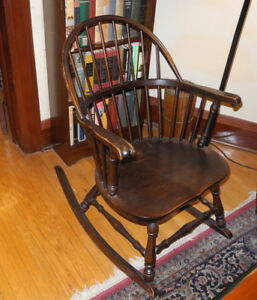 Relaxing, Lovely and  Sturdy:   Windsor Rocker