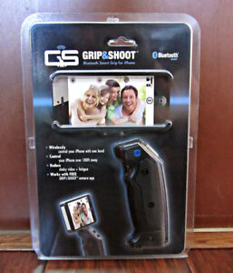 GRIP & SHOOT BLUETOOTH SMART GRIP - FOR IPHONE 4S & 5 - NEW