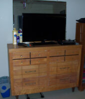 Double Dresser with Mirror