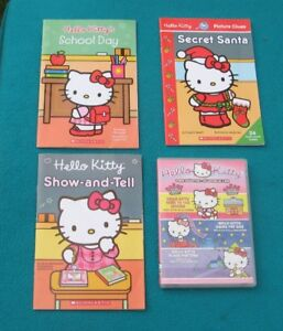 Hello Kitty 4 books and a DVD