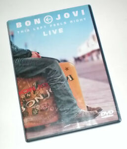Bon Jovi NJ Concert DVD and 2 Double Sided Tee Shirts Set London Ontario image 5