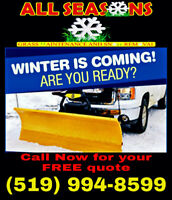 All seasons property care snow removal experts