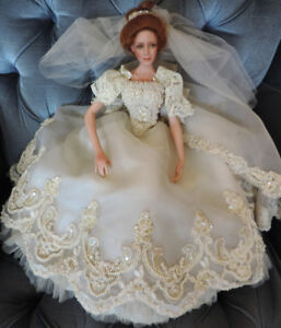 Porcelain Bride Doll - The Ashton-Drake Galleries
