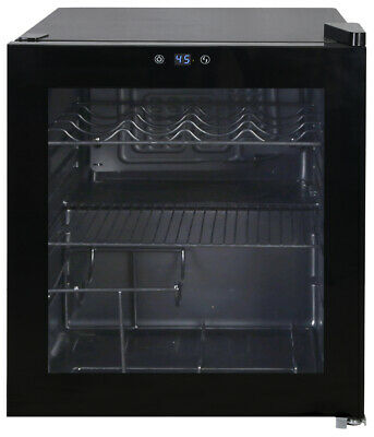 Avanti 1.6 cu. ft. Wine Beverage Cooler Fridge Refrigerator - Black