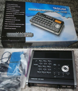 2 Tascam Multi Track Recorders 8 Tracks Portable