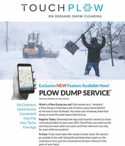 """""""On Demand"""" Snow Removal NOW!"""