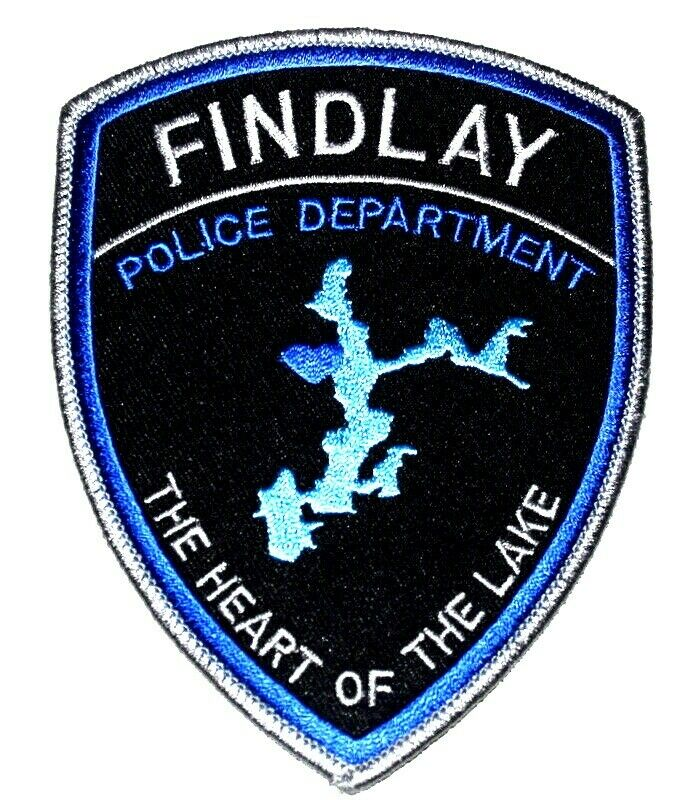 "FINDLAY ILLINOIS IL Sheriff Police Patch LARGE 5"""
