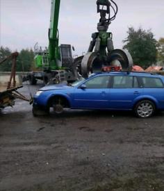 Scrap cars Van's 4x4 wanted