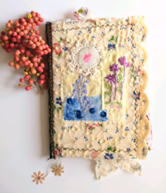 'In the Garden' Handmade Journal