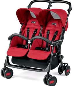 Like new perego double stroller!