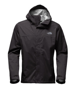 Men's TNF Black North Face Venture 2 Rain Shell