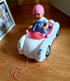 Baby born with car