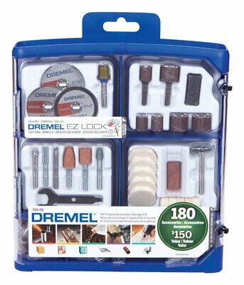 """Dremel Accessory Kit 180 Pieces 1-1/2 """""""