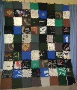 """Custom Made - """"Memory Quilts"""" ~ Made by my Sister Jan Stratford Kitchener Area image 2"""