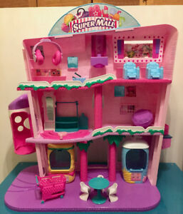 Shopkins Shoppies Supermall Playset