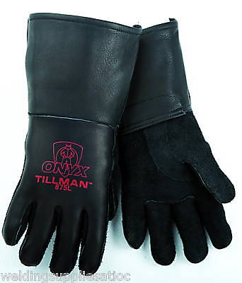 Tillman Black Onyx 875 Stick Welding Glove Medium 1pr
