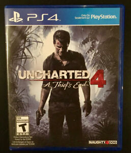 Uncharted 4 en parfaite condition contre GTA V PS4