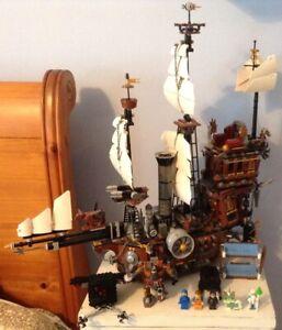 THE LEGO MOVIE 2014 70810 SEA COW 70812 MINI FIGURE SERIES 71004
