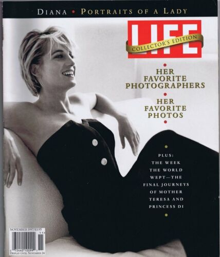 ORIGINAL Vintage November 1997 Life Magazine Princess Diana Collector