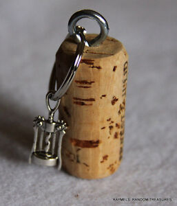 nautical cork keychain corkscrew wine bottle opener charm. Black Bedroom Furniture Sets. Home Design Ideas