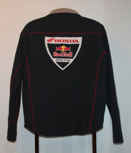 TEAM ISSUE HONDA RED BULL RACING MOTORCYCLE JACKET LARGE