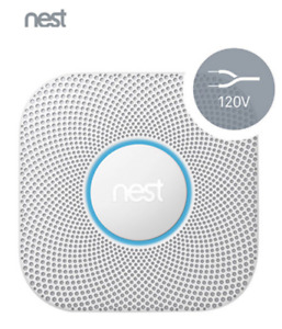 Nest Protect 2nd Gen Smoke + Carbon Monoxide Alarm - Wired