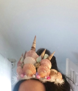 Beautiful Mermaid/Shell Crown