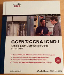 CCENT/CCNA ICND1 and ICND2 official exam certif. guides by Cisco