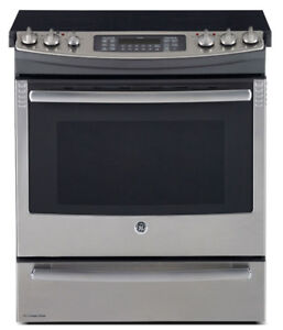 GE Profile SLIDE-IN conviction ELECTRIC Stainless Steel