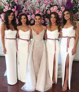 ELEGANT TAILOR MADE BRIDESMAID DRESS